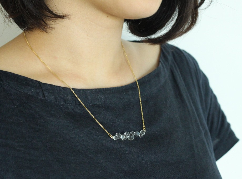 -Dew- long necklace