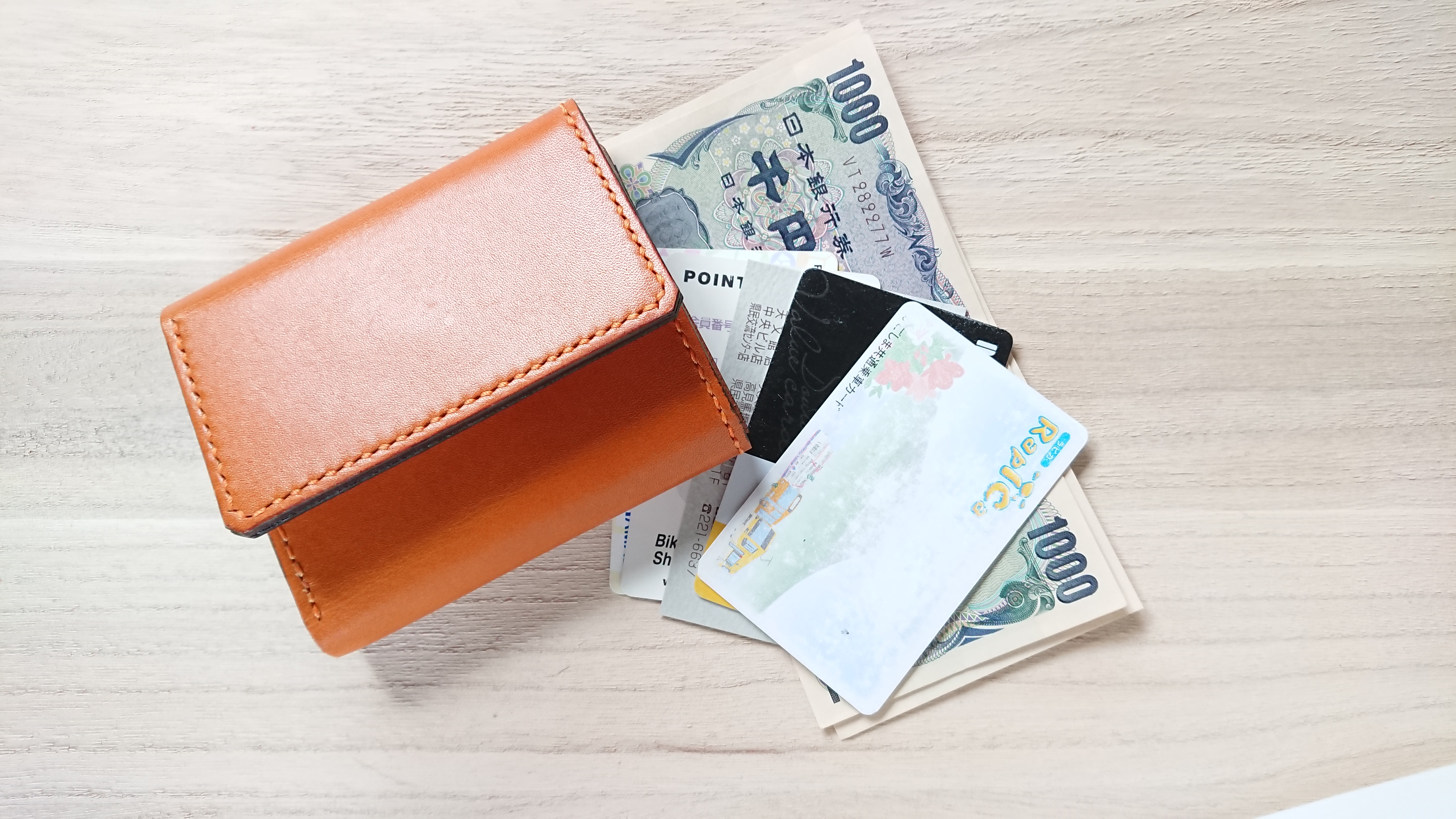 三 千 円 つ折り 札