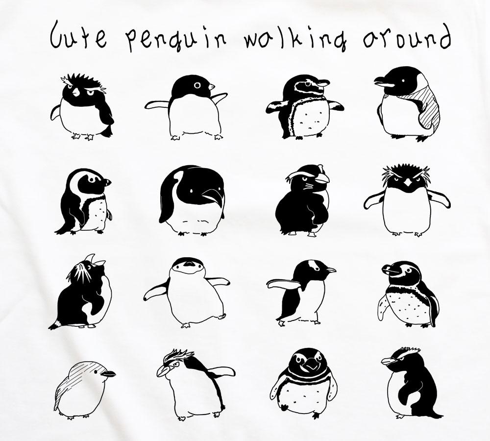 ペンギンがいっぱい レディースタイプ Iichi ハンドメイド クラフト作品 手仕事品の通販