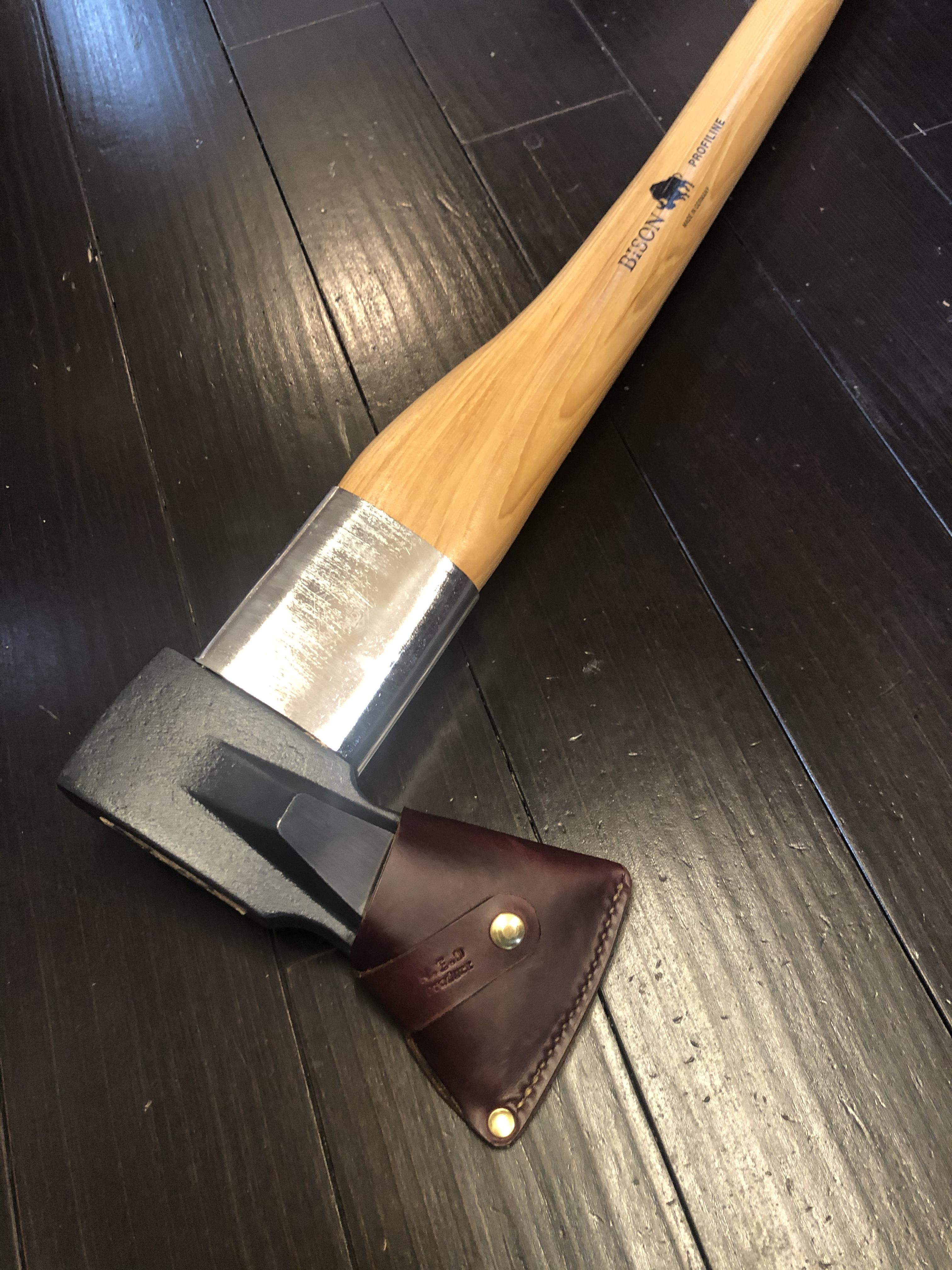 BISON用 オリジナル斧カバー   iichi ハンドメイド・クラフト作品・手 ...