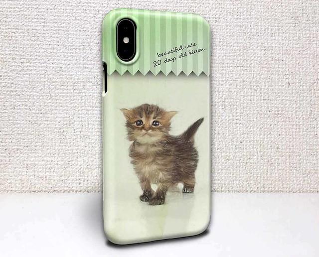 Iphone ハードケース Iphonex Iphone8 Iphone8 Plus 猫 生後20日の