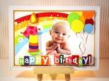 ★誕生日★Baby 3 D Photo ART~バースデーボード・ベビーポスター~の画像