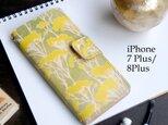 iPhone7Plus/8Plus アイフォンケース 手帳型(ピュア イモーテル) 牛革 ILL-1139の画像