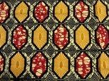 アフリカンプリント布の画像