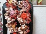 ♪花hana花♪モチーフロングストールの画像