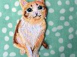 アップリケワッペン -キャット おねだり猫 901の画像