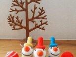 コロンさまオーダー分 So Cute!Snowmans!の画像