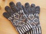 【編み物キット】アピラの手袋の画像