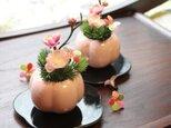 新春 和福梅のミニアレンジ の画像