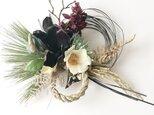 お正月しめ縄飾り マグノリアの画像