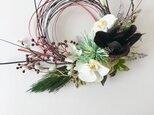 お正月しめ縄飾り 胡蝶蘭の画像