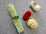 編み針ケース グリーンの画像