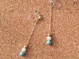 Swarovski earring【swing】の画像