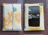 p8 鏡付ポケット ティッシュケース(カバー)の画像