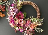 Autumn Cosmos wreathの画像