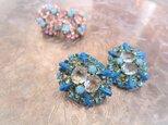 ヴィンテージイヤリング vintage earrings <ER-RBtqbl>の画像