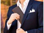 【壺渋×イタリアンレザー】帆布「多機能長財布」KSV-006の画像