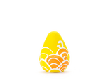 願い玉(青海波文様)黄の画像