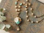 ハスケル パール ◆ クラシック・花かごのネックレス コスチュームジュエリーの画像