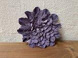革花のブローチピン 3Lサイズ  薄紫の画像