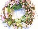 スプリングガーデンリース・桜を楽しむの画像
