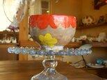 お花のフリーカップの画像