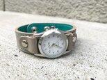 【送料無料】毎日つけていたくなる時計「ステッチラン 腕時計」受注生産(SRW-HTH-TS)Ⅱの画像