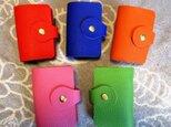 【選べる5色】とっても上質なカードホルダー(20ポケット)トリヨン(牛革)製の画像