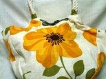大きなお花のビッグバッグの画像