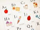親子に笑顔が生まれる「アルファベット表」ABC Chartの画像
