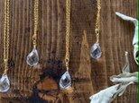 【大粒クリスタルクォーツAAA】ブリオレットカット・ネックレスの画像