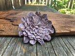 革花のヘアゴム 2Lサイズ 薄紫の画像