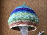 Acorn hat (green)の画像