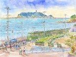 江の島と江ノ電10の画像