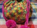 アメちゃん袋(赤黄緑ミックスバージョン)の画像
