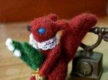 羊毛人形/うさぎとすずらんの画像