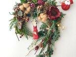Xmas & Newyear wreathの画像