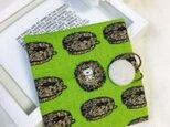 携帯用BOXティッシュケース たわしなハリネズミ♪の画像