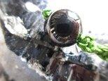 最強の魔除け 黒水晶 10mm珠 お紐仕立てストラップの画像