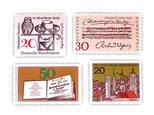 ドイツ切手(聖書と楽譜)Germany DA-STE086の画像