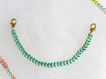 羽織紐*turquoise greenの画像