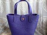 【新作新色】総手縫い トリヨン ミニトートバッグの画像