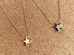 星のネックレス<ゴールド>の画像