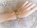 ヴィンテージビジューブレスレット vintage bijou bracelet <BL- RBorcl>の画像