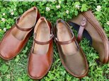 手を全く使わずに履ける魔法の靴 マグネットシューズ (KAYAK) 特許取得 日本製 国産素材 【受注生産:納期30日】の画像