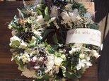 Wreath*ホワイトクリスマス*の画像