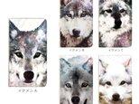 ★手帳型ケース(汎用型タイプ) ★Android対応 イケメン狼'sの画像