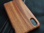 【受注生産】実績と安心サポート iPhone X  専用木製ケースの画像