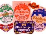 Vintage ラベルコラージュBセット(Austria) DA-CO075の画像