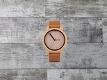 Bamboo Wooden Watch Simplement Design Type Aの画像